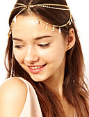 cheap Fashion Headpieces-Women's Vintage Cute Party Work Alloy Head Chain - Solid Colored