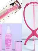baratos Anáguas para Vestidos de Noiva-uma ferramenta de três peças de cuidados peruca