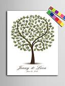 voordelige Stickers, labels & tags-Ondertekende lijsten & platen Papier Tuin Thema BruiloftWithPatroon Bruiloftsaccessoires