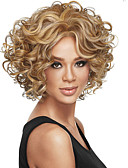 cheap Women's Hats-high quality european and american fashion curly wig two colors are optional