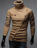 cheap Men's Shirts-Men's Classic & Timeless Pullover - Solid Colored, Vintage Style