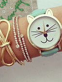 cheap Quartz Watches-Women's Wrist Watch Chronograph PU Band Charm / Fashion Black / White / Blue / One Year / KC 377A