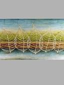 رخيصةأون زينة الكيك-هانغ رسمت النفط الطلاء رسمت باليد - مناظر طبيعية الحديث كنفا