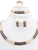 Χαμηλού Κόστους Βραδινά Φορέματα-Γυναικεία Κοσμήματα Σετ Σετ Κοσμημάτων - Επιχρυσωμένο, Προσομειωμένο διαμάντι Cruce