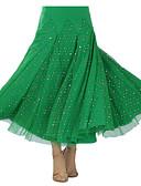 economico Abbigliamento balli da sala-Balli da sala Tutù e gonne Per donna Prestazioni Fibra di latte Drappeggio Gonna / Danza moderna