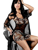 cheap Women's Nightwear-Women's Babydoll & Slips Nightwear - Mesh, Jacquard