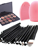 cheap Women's Swimwear & Bikinis-Eyeshadow Palette Powders Makeup Brushes Travel Eco-friendly Professional Makeup Eye Dry Matte Shimmer Waterproof Fast Dry Long Lasting 15 Cosmetic Grooming Supplies