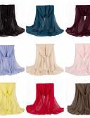 preiswerte Schals-Damen Büro Grundlegend, Baumwolle Infinity-Schal Solide