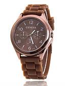 cheap Fashion Watches-Xu™ Women's Quartz Wrist Watch Casual Watch Silicone Band Charm Casual Fashion Black White Blue Red Brown Green Pink Purple