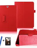 halpa Samsung Case-Etui Käyttötarkoitus Samsung Galaxy / Välilehti S2 9.7 360° kierto / Tuella / Flip Suojakuori Yhtenäinen Kova PU-nahka