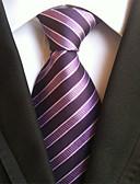 abordables Corbatas y Pajaritas para Hombre-Hombre Elegante Lujo / Rayas Creativo