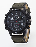 cheap Sport Watches-Men's Wrist Watch Casual Watch / / PU Band Casual Black / Blue / Brown