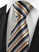 olcso Férfi nyakkendők és csokornyakkendők-Férfi Kreatív Stílusos Luxus / Csíkos