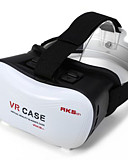 cheap Women's Dresses-2016 VR BOX Google Cardboard 3D Movie VR Case Head Mount Plastic VR BOX Version Virtual Reality Glasses for Smart Phone