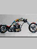 billige Modebælter-mintura® lager håndlavet motorcykel oliemaleri på lærred væg malerier til stue hjem indretning whit ramme