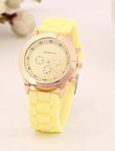 preiswerte Modische Uhren-Damen Armbanduhr Armbanduhren für den Alltag Silikon Band Charme / Modisch Schwarz / Weiß / Blau / Ein Jahr / Tianqiu 377