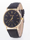 preiswerte Armband-Uhren-Damen Armbanduhr Schlussverkauf Leder Band Charme / Modisch Schwarz / Weiß / Blau