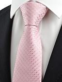 olcso Férfi nyakkendők és csokornyakkendők-Férfi Kreatív Stílusos Party/Estélyi Előírásos stílus Luxus Rácsos Iroda/Üzlet - Nyakkendő