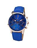 ieftine Ceasuri La Modă-Geneva Pentru femei Ceas de Mână Quartz Piele PU Matlasată Negru / Alb / Albastru Ceas Casual Analog femei Charm Modă - Verde Albastru Roz Un an Durată de Viaţă Baterie / SSUO 377