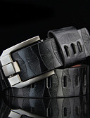 cheap Fashion Belts-Men's Work / Active / Basic Alloy Waist Belt - Solid Colored / Silver