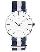 cheap Men's Watches-SINOBI Men's Quartz Wrist Watch Water Resistant / Water Proof Fabric Band Charm Blue