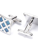 cheap Mother of the Bride Dresses-Silver Cufflinks Alloy Work / Casual Men's Costume Jewelry For