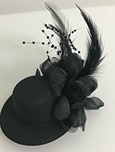 cheap Fashion Hats-Tulle / Feather Fascinators with 1 Wedding / Special Occasion Headpiece