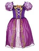 cheap Mother of the Bride Dresses-Kids / Toddler Girls' Dresswear / Bow Patchwork Short Sleeve Dress