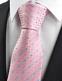 cheap Men's Ties & Bow Ties-Men's Party Work Basic Cotton Rayon Polyester Necktie - Polka Dot