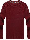 זול חלקים עליונים לגברים-אחיד - סוודר שיק ומודרני בגדי ריקוד גברים