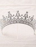 cheap Women's Down& Parkas-Rhinestone / Alloy Tiaras / Headbands / Headwear with Floral 1pc Wedding / Special Occasion Headpiece