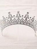 preiswerte Hochzeitskleider-Strass / Aleación Tiaras / Stirnbänder / Kopfbedeckung mit Blumig 1pc Hochzeit / Besondere Anlässe Kopfschmuck