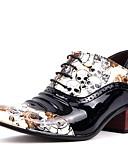 זול עניבות ועניבות פרפר לגברים-חתונת נעלי גברים / חיצוני / משרד&קריירה / צד&ערב / שמלה / נעלי מזדמנים מעור שחור / לבן