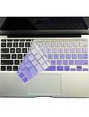 זול אביזרים ל-MacBook-SoliconeKeyboard Cover For11.6'' / 13.3 '' / 15.4 '' Macbook Pro עם רשתית / MacBook Pro / Macbook Air עם רשתית / MacBook Air