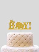 رخيصةأون زينة الكيك-كعكة توبر الشاطئBeach Theme كلاسيكيClassic Theme مضحك ومتردد أوراق البطاقة دش الطفل مع عقدة 1 OPP