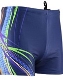 cheap Men's Shirts-Men's Swim Shorts Waterproof, Ultraviolet Resistant, Breathable Lycra Swimwear Beach Wear Board Shorts Classic Swimming / Diving / Surfing