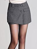 baratos Blusas Femininas-Mulheres Fofo Tamanhos Grandes Jeans Calças - Sólido