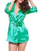 cheap Women's Sexy Clothing-Women's Satin Satin & Silk Nightwear Patchwork
