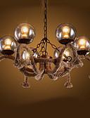 abordables Vestidos de cóctel-6-luz Lámparas Colgantes Luz Ambiente Acabados Pintados Metal Vidrio Mini Estilo 110-120V / 220-240V Bombilla no incluida / E26 / E27