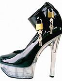 povoljno Korzeti i grudnjaci-Žene Cipele Lakirana koža Proljeće Ljeto Klub obuća Svjetleće tenisice Cipele na petu Stiletto potpetica Platformske cipele za Vjenčanje