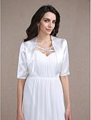 ราคาถูก ผ้าคลุมสำหรับชุดแต่งงาน-ซาติน งานแต่งงาน ห่อแต่งงาน กับ โค้ท / แจ๊คเก็ต