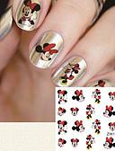 cheap Women's Nightwear-fashion printing pattern water transfer printing cartoon pattern nail stickers