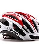 preiswerte Hochzeitsgeschenke-CAIRBULL Erwachsene Fahrradhelm 29 Öffnungen ASTM / ASTM F 2040 Stoßfest, Leichtes Gewicht, Einstellbare Passform EPS, PC Sport Straßenradfahren / Freizeit-Radfahren / Wandern - Rot / Hellblau