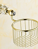 cheap Men's Shirts-Toilet Paper Holder Contemporary Brass 1 pc - Hotel bath