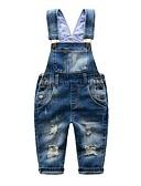 voordelige Jurken-Peuter Jongens Effen Mouwloos Katoen Broek / Jeans