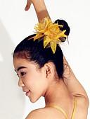 preiswerte Tanzzubehör-Tanz Accessoires Kopfbedeckungen Damen Leistung Polyester / Feder Federn / Pelzl / Blume Kopfbedeckung / Moderner Tanz