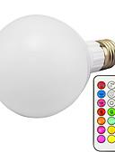 voordelige Damesslips-10W 3000lm E26 / E27 Slimme LED-lampen G95 1 LED-kralen Geïntegreerde LED Dimbaar Op afstand bedienbaar RGB 85-265V