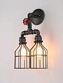 baratos Roupas Íntimas e Meias Masculinas-OYLYW Rústico / Campestre / Vintage / Retro Luminárias de parede Sala de Estar / Sala de Jantar Metal Luz de parede 110-120V / 220-240V 60 W / E26 / E27