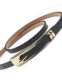 cheap Fashion Belts-Women's Party Work Active Basic Waist Belt - Solid Colored