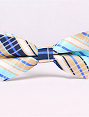 cheap Men's Ties & Bow Ties-Men's Party Work Basic Polyester Bow Tie - Check